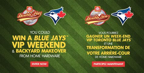 Play From Home Sweepstakes - home hardware double play giveaway contest toronto blue jays