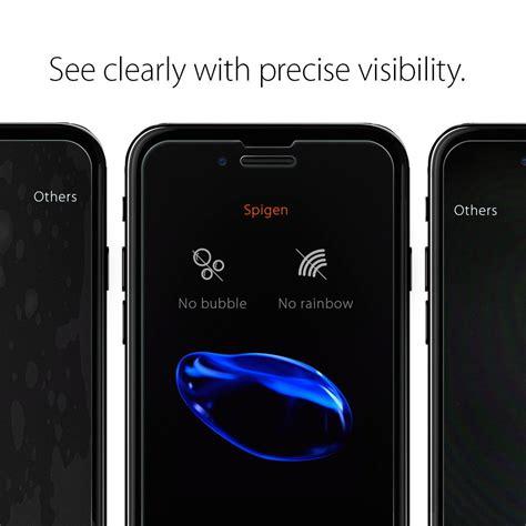 Spigen Iphone 7 Plus Glastr Slim Hd Screen Protector Tempered Glass spigen glas tr slim hd iphone 7 7 plus screen protector primegad