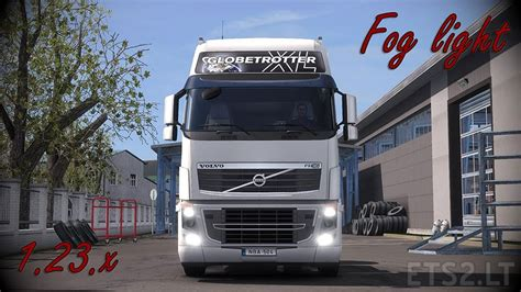 volvo light trucks fog light ets 2 mods