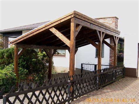 pavillon pultdach einzelcarport nach kundenwunsch mit pultdach karst holzhaus