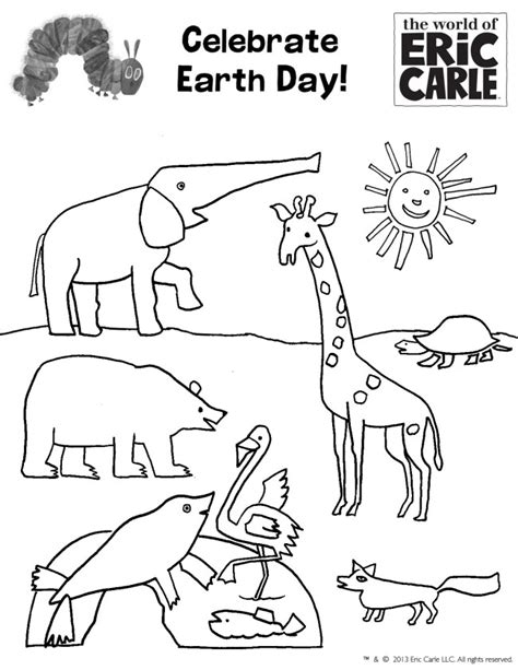 free eric carle coloring pages az coloring pages