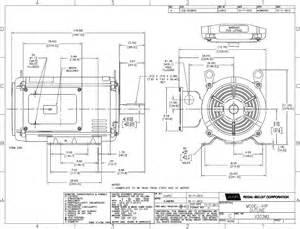 v303m2 ao smith 10 hp air compressor motor 230 460 vac
