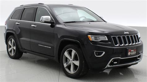2016 jeep cherokee sport black on black 2016 jeep grand cherokee overland 4wd by ride time