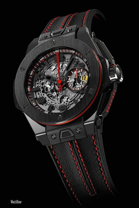 Hublot Ferrari by A Fleet Of Ferraris 10 Hublot Big Bang Ferrari Watches