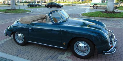 Green Porsche Convertible 28 Images 1965 Porsche