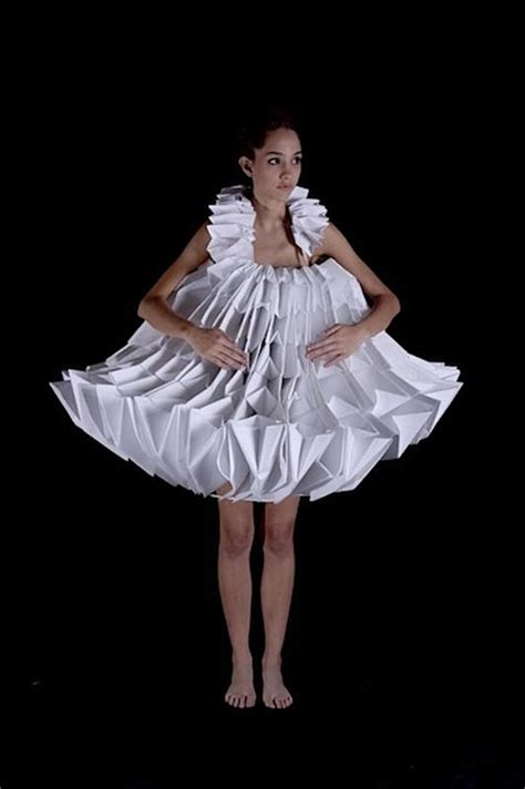 Origami In Fashion - origami fashion make