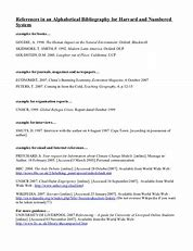 Image result for what is the format for a thesis reference page