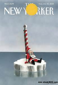 santa global warming makes the new yorker cover