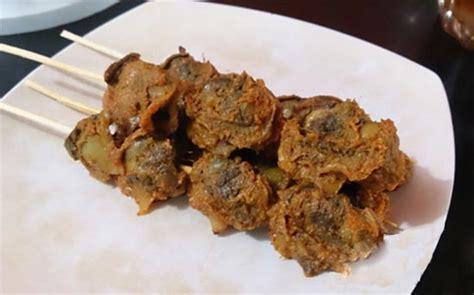 Sate Kerang Medan resep sajian masak sate kerang medan paling mantap dan