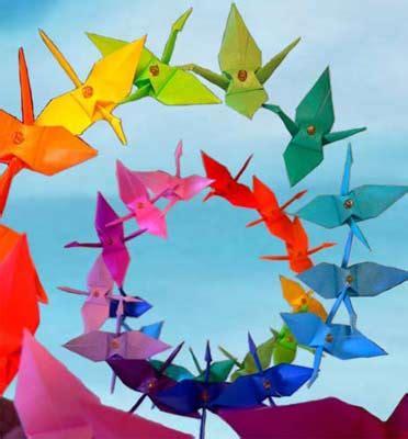 Origami Peace - lou origami peace crane home page