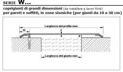 coprigiunto per pavimenti coprigiunti particolari per giunti di grandi dimensioni in