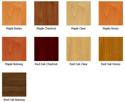Cabinet Wood Types by Kitchen Cabinet Wood Colors Ideas Home Design