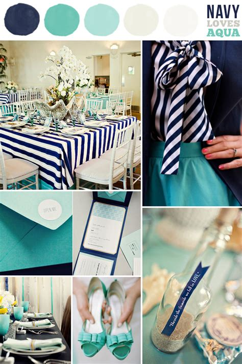 spring summer wedding colors navy magazine