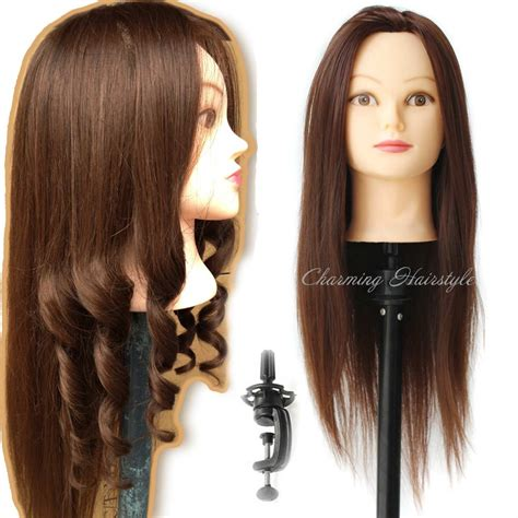 black doll heads for hairstyling american cosmetology mannequin with human