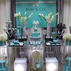 Cheap Paris Themed Decor Tiffany Themed Baby Shower Main Table Decoration Ideas