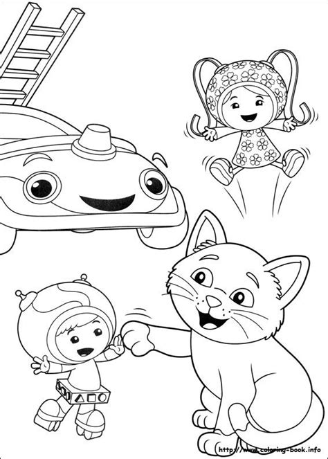 coloring pages umizoomi 1000 images about umizoomi on units of