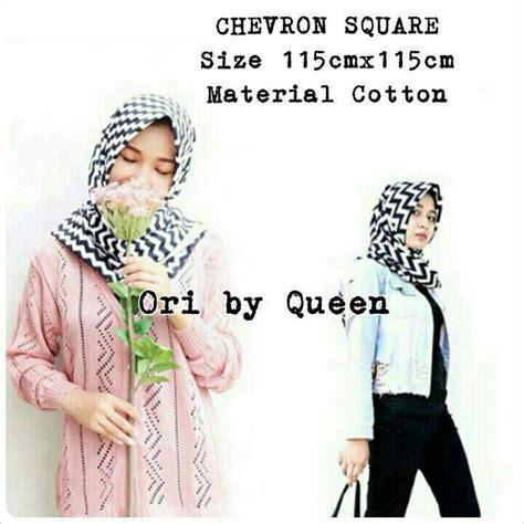Wolfis Square jual harga grande chevron square biggy zigzag monochrome zero2fifty