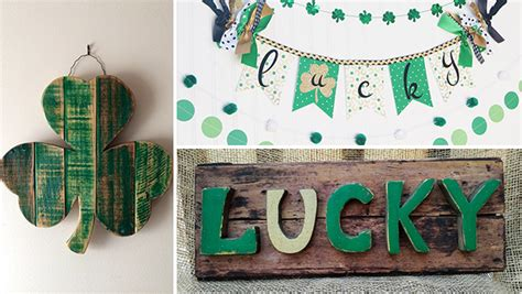 Last Day For Decorations by 16 Lucky Last Minute Handmade St S Day Decorations