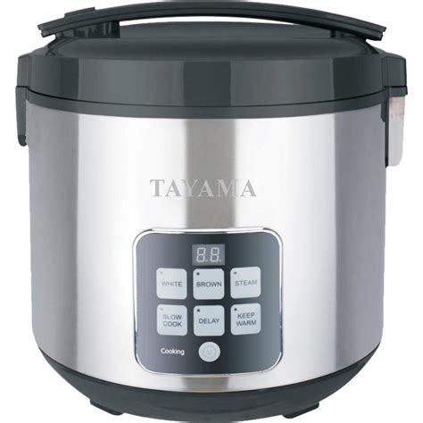 Rice Cooker Sanken Stainless Steel tayama micom 10 cup rice cooker trc 50h1 the home depot