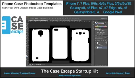 Phone Case Photoshop Templates For Custom Phone Case Business Caseescape Custom Phone Template