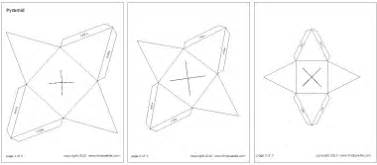 square pyramid printable templates amp coloring pages firstpalette