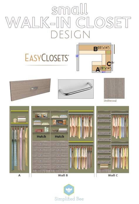 Floor Design Online our small walk in closet design simplified bee