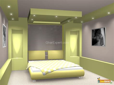 green pop ceiling colors  lighting  bedroom
