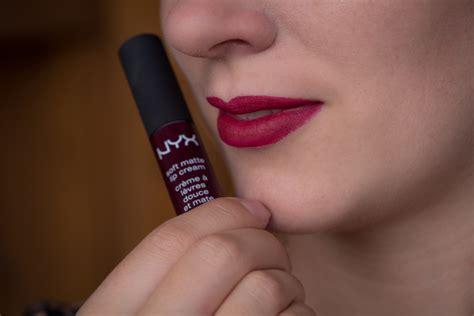 nyx soft matte lip deutschland nyx soft matte lip in quot copenhagen quot review und fotos