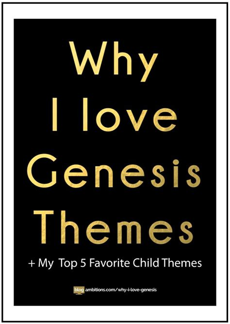 love themes top why i love the genesis framework plus my top 5 favorite