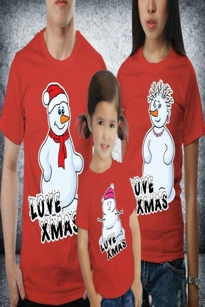 Kaos Natal Merry 004 jual kaos keluarga kaos tema natal 2014