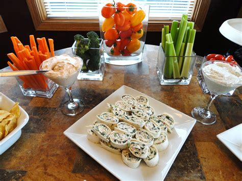 Oxford Impressions: Wedding Bridal Shower Ideas and Appetizers
