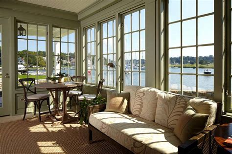 Sun Windows Decor How To Decorate A Sunroom With Small Space And Low Budget Homescorner