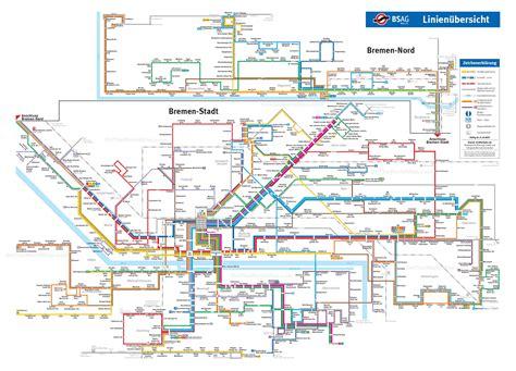 germany bremen map bremen transport map