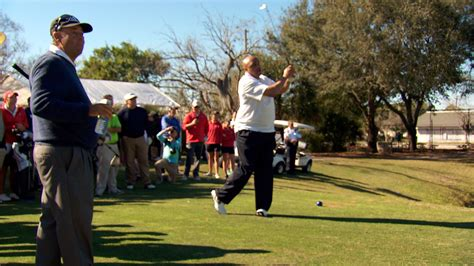 charles barkley swing brad bryant breaks charles barkley s golf swing