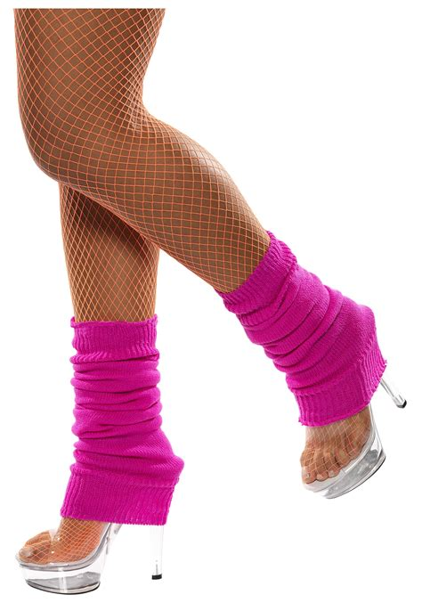 80s Leg Warmers by 80s Neon Pink Leg Warmers Womens 1980s Costume Accessories