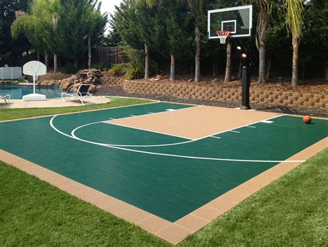 backyard sports courts residential gallery snapsports news