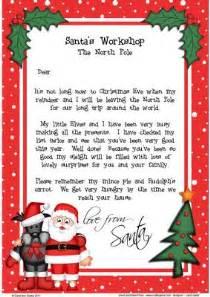 santa scottie a4 child s letter from santa