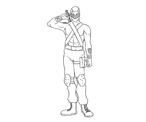 printable snake eyes gi joe snake eyes coloring pages coloring home