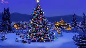 Christmas trees in snow christmas tree lights idea of christmas tree