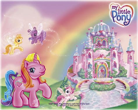 Hadiah Mainan Anak House Castle My Pony Park 93pc Sm103c my litter ponny image