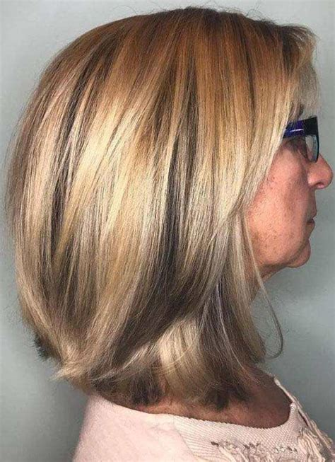 Medium Hairstyles For 50 by Pretty 2018 Hairstyles For 50 Hairstylesco