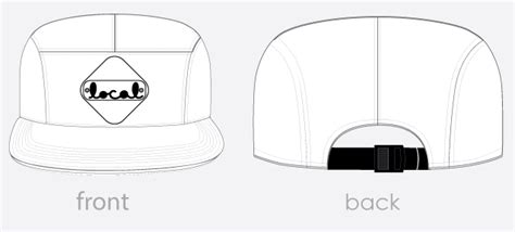custom 5 panel cer cap local knits