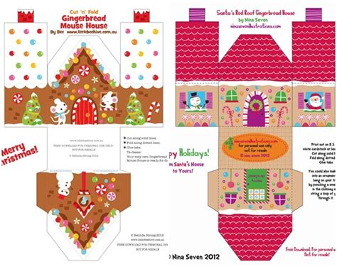printable christmas village 7 best images of free printable christmas village houses