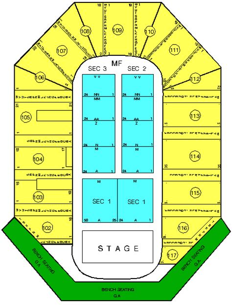 uic pavilion seating uic pavilion seating chart