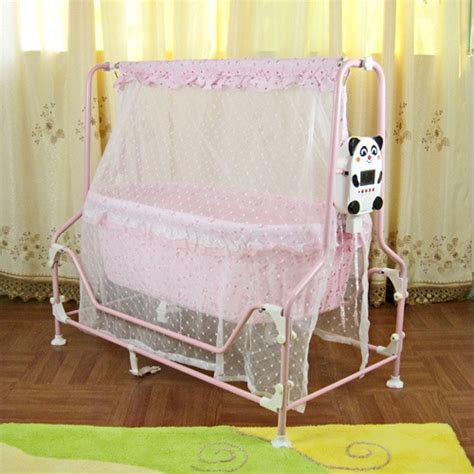 baby swing cot china intelligent swing baby cot with large lcd display