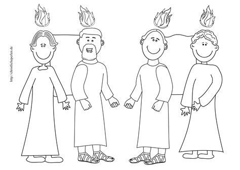 biblische figuren zum ausmalen basteln zu pfingsten christliche perlen