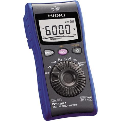 Multimeter Hioki hioki dt4221 digital multimeter meter digital