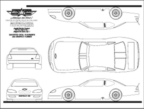 blank race car templates model t race engine model free engine image for user manual