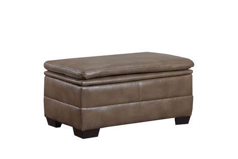 beige leather ottoman simmons upholstery editor bonded leather beige storage