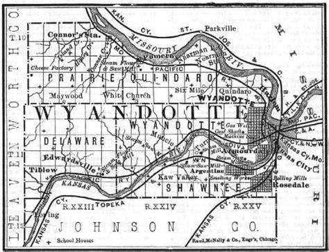 Wyandot County Records Wyandotte County Kansas Genealogy